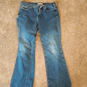 Levis 515 boot cut jeans size 10short